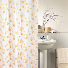 CMI Mare Beige Cortina de ducha 180 x 200 cm. textiles Alta Calidad incl. Anillo