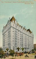 WINNIPEG MAN – The Fort Garry Grand Trunk Pacific's New Hotel