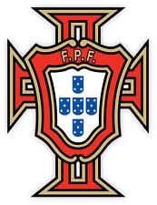 Portugal FPR Portogallo football calcio adesivo etichetta sticker 9cm x 12cm