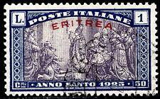 Eritrea 1925 Anno Santo n. 91 - usato (m249)