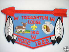 TISQUANTUM LODGE F-6 1986 NOAC PATCH