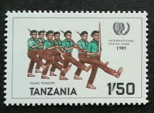 [SJ] Tanzania International Youth Year 1985 Scout Scouting (stamp) MNH