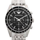 EMPORIO-ARMANI-AR5988-Black-Dial-Mens-Watch-Genuine-FreeSH