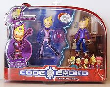 CODE LYOKO -  ODD real + virtual - Set of 2 Figures ODD,  New in box.