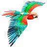 Metal Earth 3D ICONX Laser Cut DIY Model KIT Parrot Jubilee Macaw