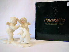 "DEPT 56 SNOWBABIES ""PLAYING GAMES IS FUN!"" 7947-2"