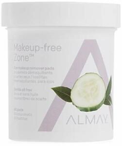 Almay Oil Free Gentle Eye Makeup Remover Pads, Hypoallergenic, Cruelty Free, ...