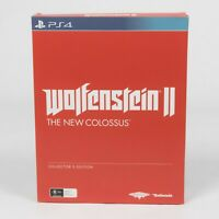 Wolfentsein II 2 The New Colossus Collector's Edition | PS4 | Playstation 4 |