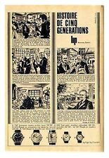 1962 DOCUMENT (ref IPS 1285) PUB  : BD  MONTRE LIP    (1p)