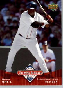 2006 Upper Deck National Baseball Card Day #UD9 David Ortiz - Boston Red Sox