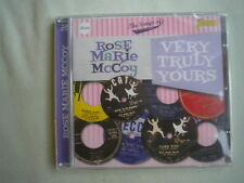 ROSE MARIE McCOY Very Truly Yours 2CD Jasmine 2016 new sealed