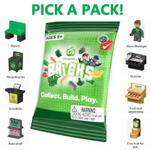 Woolworths Bricks Supermarket Pack Pick Your Own Set Kids Gift