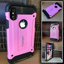 Apple iPhone 7 Hybrid Shockproof Cover Kick Stand  Rugged Case PINK
