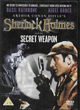 Sherlock Holmes and the Secret Weapon DVD Basil Rathbone Nigel Bruce