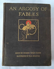 """AN ARGOSY OF FABLES"" 1921 by Paul Bransom Published by Frederick. A. Stokes Co."