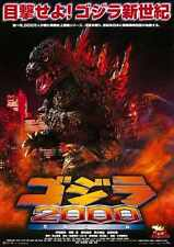 Godzilla 2000 PostEr 01 A2 Box Canvas Print