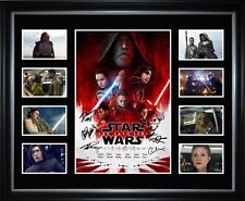 The Last Jedi Signed Framed Memorabilia