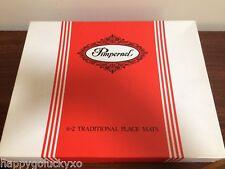 Boxed Vintage PIMPERNEL 6 + 2 Traditional Place Mats, 3 Floral Array!
