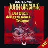 JOHN SINCLAIR: FOLGE 20 - DAS BUCH DER GRAUSAMEN TRÄUME  CD NEU