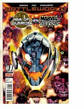 4 Marvel Comics Ultron Vs Zombies 1 Thors 1 Future Imperfect 1 Old Logan 1 TW61