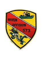 Vintage Vietnam River Division 573 Navy Patch