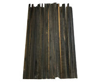 "25  Pieces Of  Gaboon Ebony Wood Sticks/Square Blanks 20"" Length x 3/8"" x 3/8"""