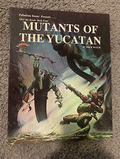 Vintage Palladium- Mutants of the Yucatan Book 4 -Rifts,TMNT SIGNED Turtles RPG