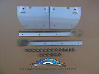 VOLVO AMAZON 121 122  MUD FLAP BRACKETS FRONT + REAR STAINLESS STEEL KIT!