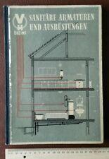 Katalog Sanitär Armatur DHZ MF DDR 1956 Technik Fotos Klempner Installateur Ofen