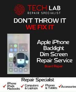 No Backlight Black Screen No Light Repair Service For iPhone 6 6S 6 Plus 6S Plus