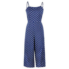 Womens Summer Jumpsuit Romper Playsuit Clubwear Bodycon Long Trouser Pant Outfit