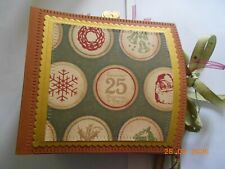 HANDMADE CHRISTMAS MEMORY BOOK / PHOTO ALBUM - IDEAL PRESENT