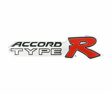 NEW 3D Premium Honda Accord Type R Racing Emblem Badge Sticker JDM Aluminum