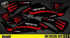 Kit Déco Quad / Atv Decal Kit Suzuki LTZ 400 - Red Monster