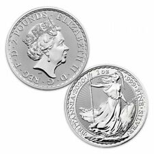 More details for 1 ounce silver britannia coin brand new 1999-2020 royal mint
