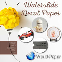 """Waterslide Decal Paper For Inkjet or Laser Printers, 8.5"""" x 11"""" Soap, Candles #1"""