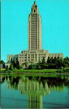 Baton Rouge LA State Capitol Building Postcard unused (13082)