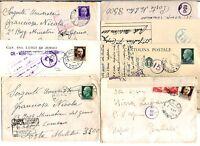 Regno -Storia Postale - Censure Militari - Lotto da 20  del settore