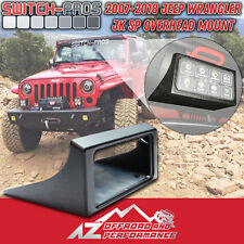 ▪Switch-Pros▪ Overhead Switch Mount for 2007-2018 Jeep JK |FAST SHIPPING|