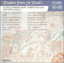 Psalms from St. Paul's Cathedral Choir Vol. 5 Psalms 56-68 CD Hyperion