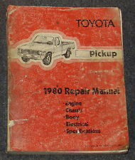 1980 Toyota Pickup Truck Service Repair Manual