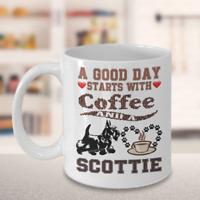 Scottie Dog,Scottish Terrier,Scottish Terrier Dog,Scotties,Aberdeenie,Cup,Mugs