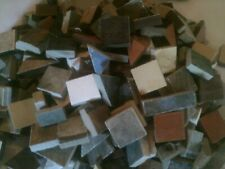 "ASSORTED COLORS MOSAIC TILES UP 1"" AND UP TO 25 POUNDS HUNDREDS OF PIECES"