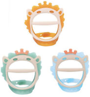 3Pack Baby Teething Toys for 0-6 & 6-12 Months BPA-Free, Eco-Friendly Non-Toxic