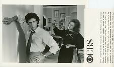 LIANE LANGLAND FERNANDO ALLENDE MASTER OF THE GAME ORIGINAL 1987 CBS TV PHOTO