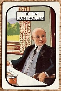"""Vintage Rare Swap / Playing Card """" The Fat Controller """""""