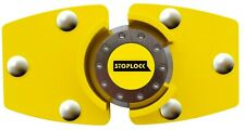 STOPLOCK VAN LOCK (Chrome plated hardened steel padlock)