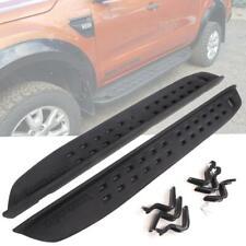 Side Steps Bars Pedal Black Fit 2012+ Ford Ranger Raptor Style Running board