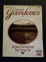 NEW YORK YANKEES 1998 OFFICIAL TEAM YEARBOOK 49TH ANNUAL EDITION