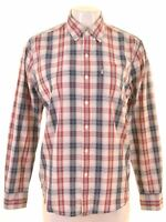 LEVI'S Womens Shirt Size 14 Medium Multicoloured Check Cotton LR06
